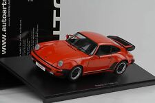Porsche 911 turbo 3.3 Guardsred rot 1:18 Autoart 77982 OVP