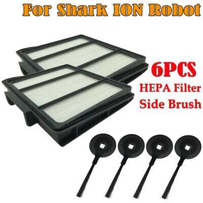 For Shark ION Robot RV700//720//750/_N RV850//850BRN//850WV HEPA Filter /& Side Brush