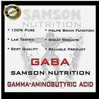 Pure Gaba Powder 2kg Gamma-aminobutyric Acid Stress & Sleep Support Gh Levels