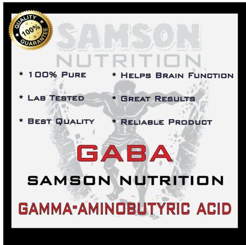 PURE GABA POWDER 5kg GAMMA-AMINOBUTYRIC ACID STRESS /& SLEEP SUPPORT GH LEVELS