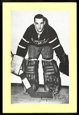 1945-1964 BEEHIVE GROUP 2 JACQUES PLANTE MONTREAL CANADIENS HOCKEY PHOTO