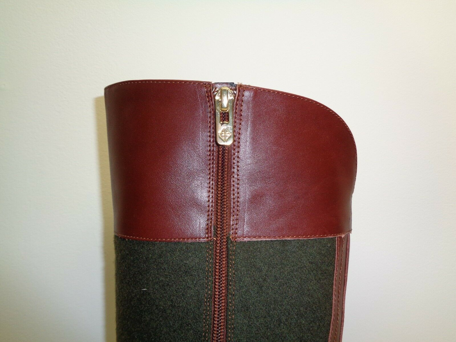 Antonio Melani Größe 6.5 Leder M ERNA Braun Sepia Leder 6.5 Wool Stiefel New Damenschuhe Schuhes 75addc