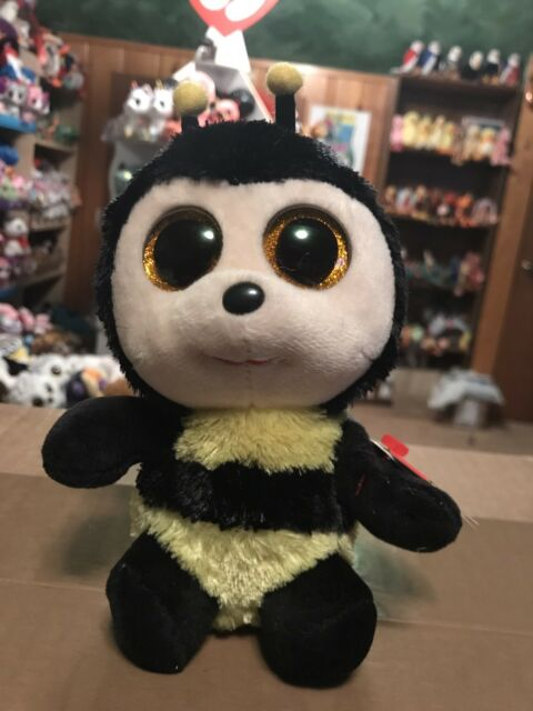 Details about Ty BUZBY- Yellow Black North American Honeybee 6