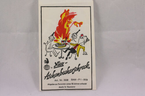 1960//70er vintage Nico plaisanterie article cendrier Schreck