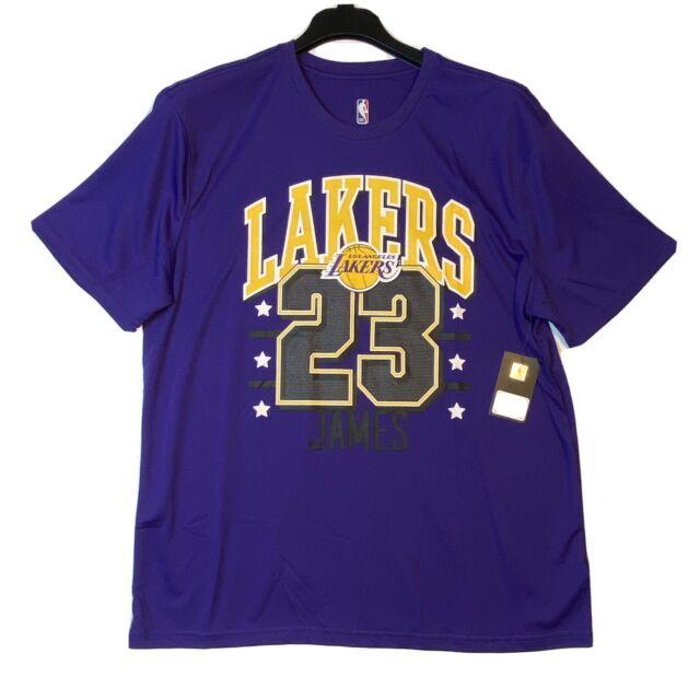 La Lakers Lebron James Jersey Shirt Purple Size XL Authentic NBA ...