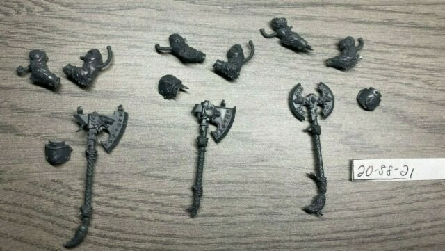 Warhammer 40K Space Wolves Marines Upgrade Frost Axes Axe x 5 V3 D