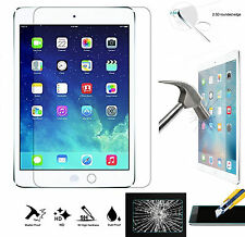 9H HD 100% Genuine Tempered Glass Screen Protector For Apple iPad Air 2 / iPad 6