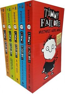 Timmy-Failure-Totally-Catastrophic-5-Books-Collection-Set-Pack-By-Stephan-Pastis