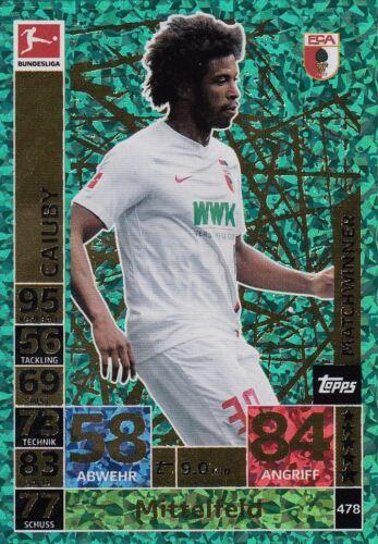Topps Match Attax Action 2018//19-Matchwinner//CLUB 100//Capitaine Club De Base