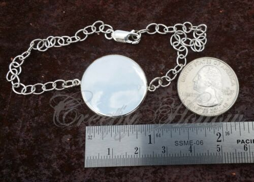 925 Sterling Silver Adjustable Bracelet Satanism Thaumaturgy baphomet pentagram