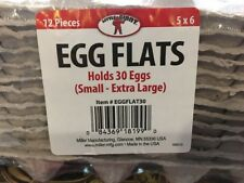 Little Giant Egg Flats for Small to Extra-Large Sized Eggs 12 FLATS INCLUDED