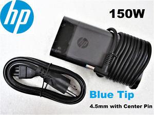 NEW-Genuine-OEM-HP-150W-19-5V-7-7A-TPN-DA09-917677-003-917649-850-4-5MM-Blue-Tip