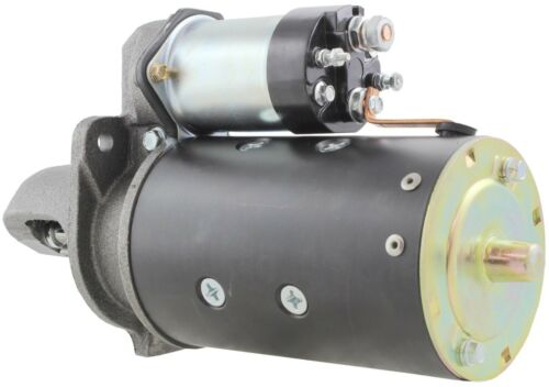 New USA Built Starter Motor Hyster Forklifts H70 H70C H80 10 Tooth Sealed!