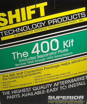 TH400 400 Transmission Superior Shift Correction Kit With Plate EBay