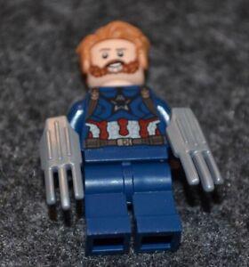 PILOT CAPTAIN AMERICA ~ Minifigure Lego Super Heroes Advengers ~ MINT~