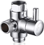 Details about  /Shower Arm Diverter Valve 3 Way Stainless Steel for Handheld Shower Head and Fix