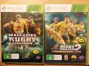 GAME-XBOX-360-WALLABIES-RUGBY-CHALLENGE-TWO-GAMES