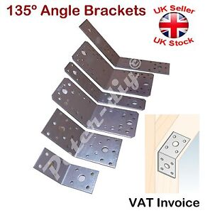 Galvanised Corner Brace Degree Angle Bracket Joist Timber - Joist invoice