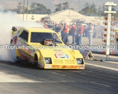 Don Snake Prudhomme 8x10 NHRA Pepsie Challenger Winternationals Photo 1