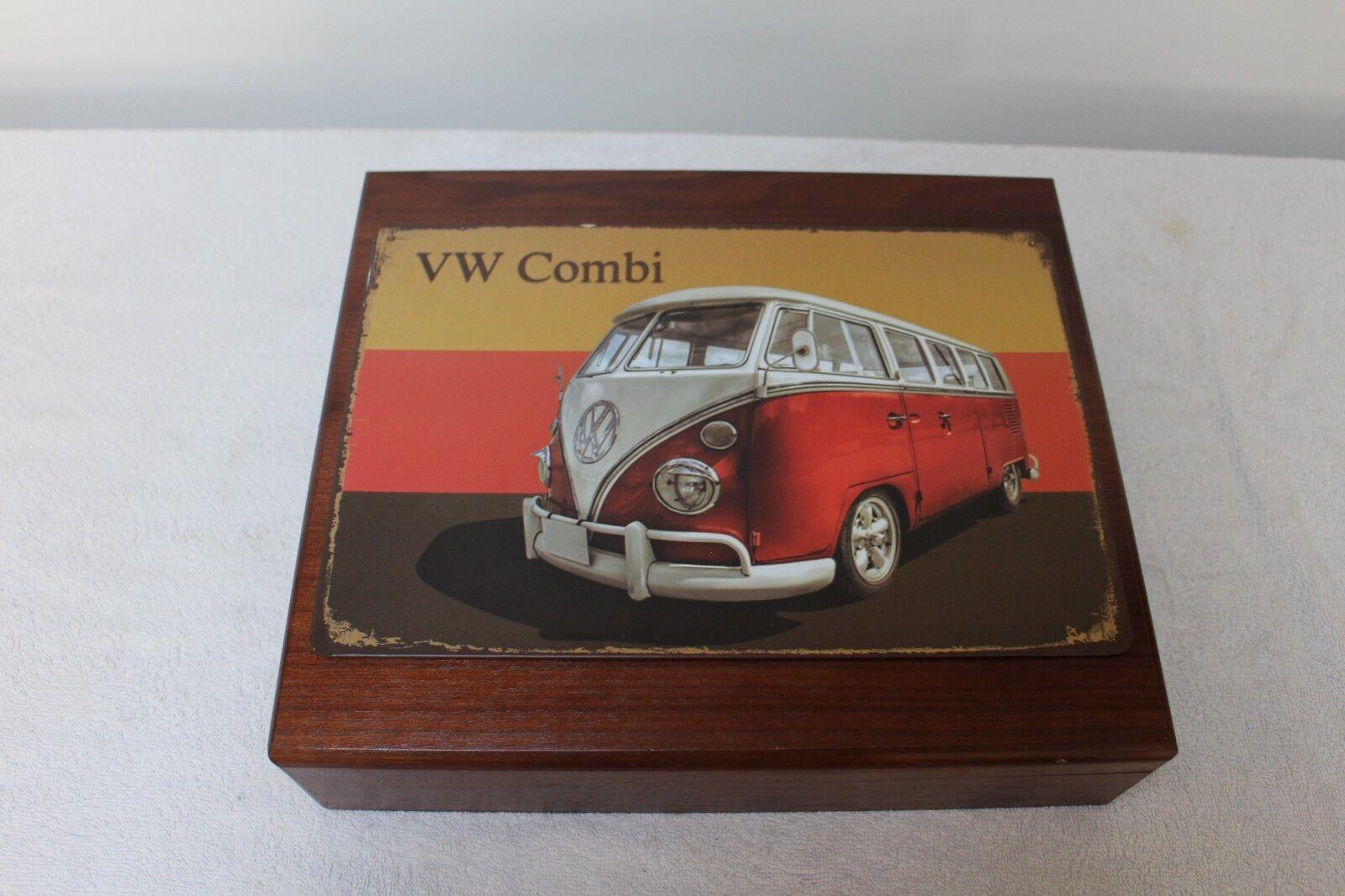 BOITE EN BOIS VW COMBI