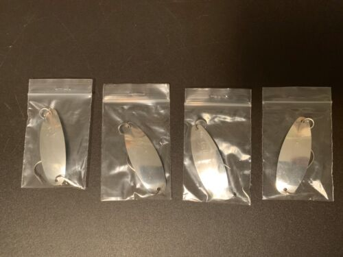 """New #25 /""""Sammy Pac/"""" size of Sutton #25 ultra thin Flutter spoons Lot Of 4"""