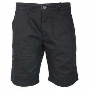 Lyle-amp-Scott-Coton-Noir-Short-Chino