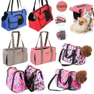 Image Is Loading Comfort Pet Dog Handbag Carrier Purse Travel Canvas