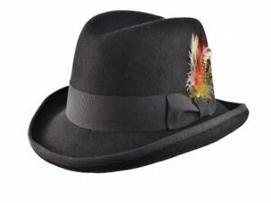 Hat Ebay Lana Western Homburg A Godfather Major Lobbia Cappello n4w8qUYn