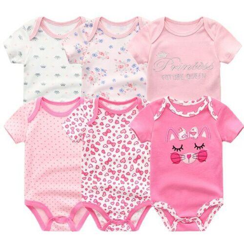 6pc Ropa De Bebe Recien Nacido 0-12 Meses Trajes Bebes Monos Monitos Varon Niña