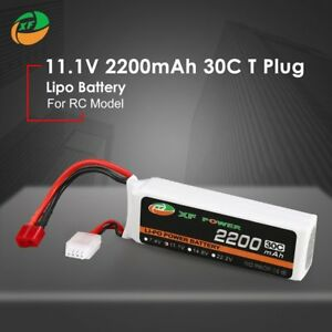 XF-POWER-11-1V-2200mAh-30C-3S-Lipo-Battery-T-Plug-For-RC-Drone-Helicopter-Car-QP