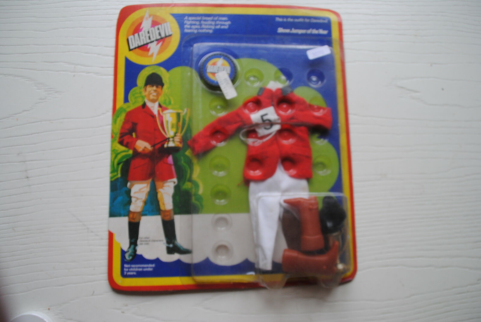 Juguetes Ltd  Dare Devil MODEL  súper Raro MOC Controlador 'set' Pony
