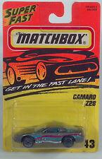 HC Matchbox MB 43 Camaro Z28 1993 1994 1995 1996 1997 1998 1999 2000 2001 2002