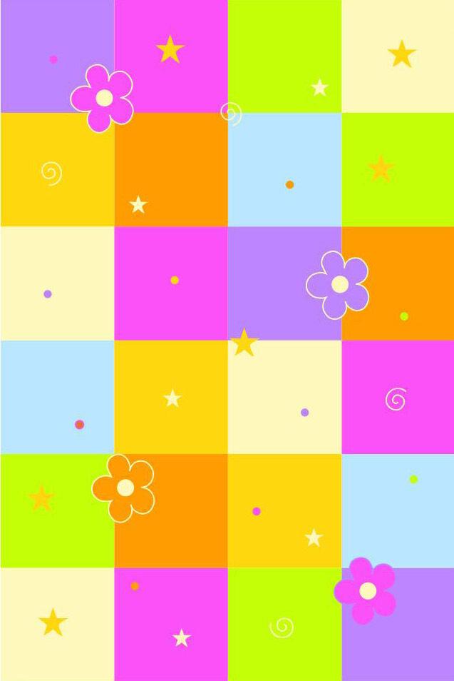 Kindertteppich KiYou Spielteppich 4464-01 Karo 150x220 cm