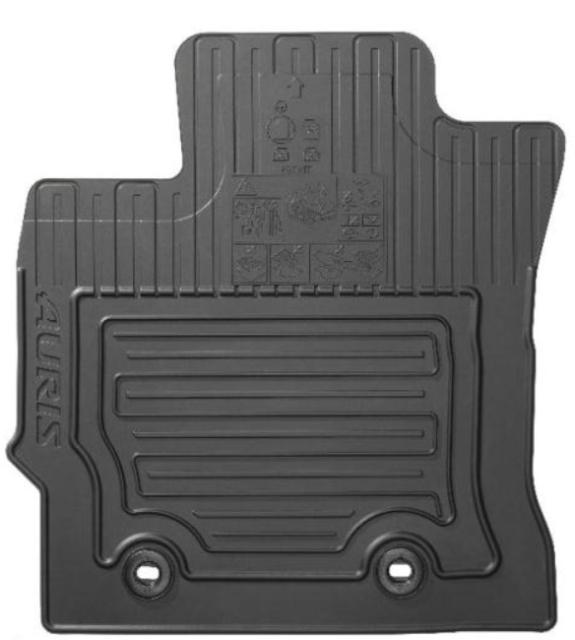 Toyota Floor Mats >> Genuine Toyota Car Rubber Floor Mats Auris 12 Pz49l E0354 Rj Oe Set