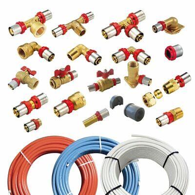 """Embrague IG 32x1/"""" de latón PE unión roscada tubo DVGW agua fitting conector"""