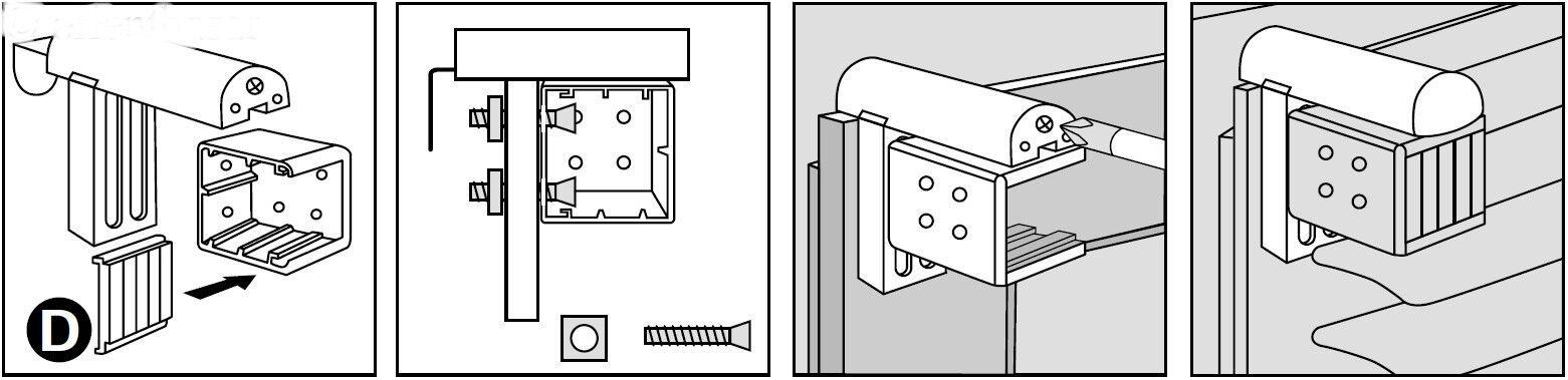 Klemmträger Nr.11 für Jalousien PVC ALU Montage ohne bohren bohren bohren Plissee Faltstore | Schnelle Lieferung  f2bf48