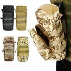 Tactical Military Hiking Molle Zipper Water Bottle Kettle Bag Pouch Mess Pouch