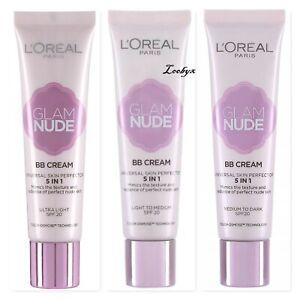 ВВ крем за лице - LOreal Paris Glam Nude BB Cream 5 in 1