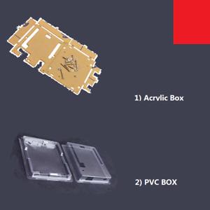 Clear Acrylic PVC Box Protect Hard/Soft Case Shell f Arduino Uno R3 Board Module