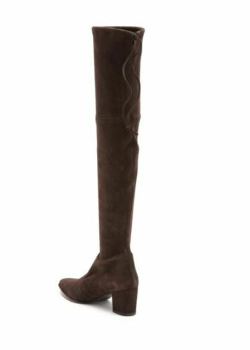 8 Suede Boot Stuart Weitzman Over The 5 Knee Cola Brown Thighland 35j4LAR