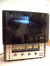 Akai 202D-SS 4 channel Reel To Reel Recorder Untested