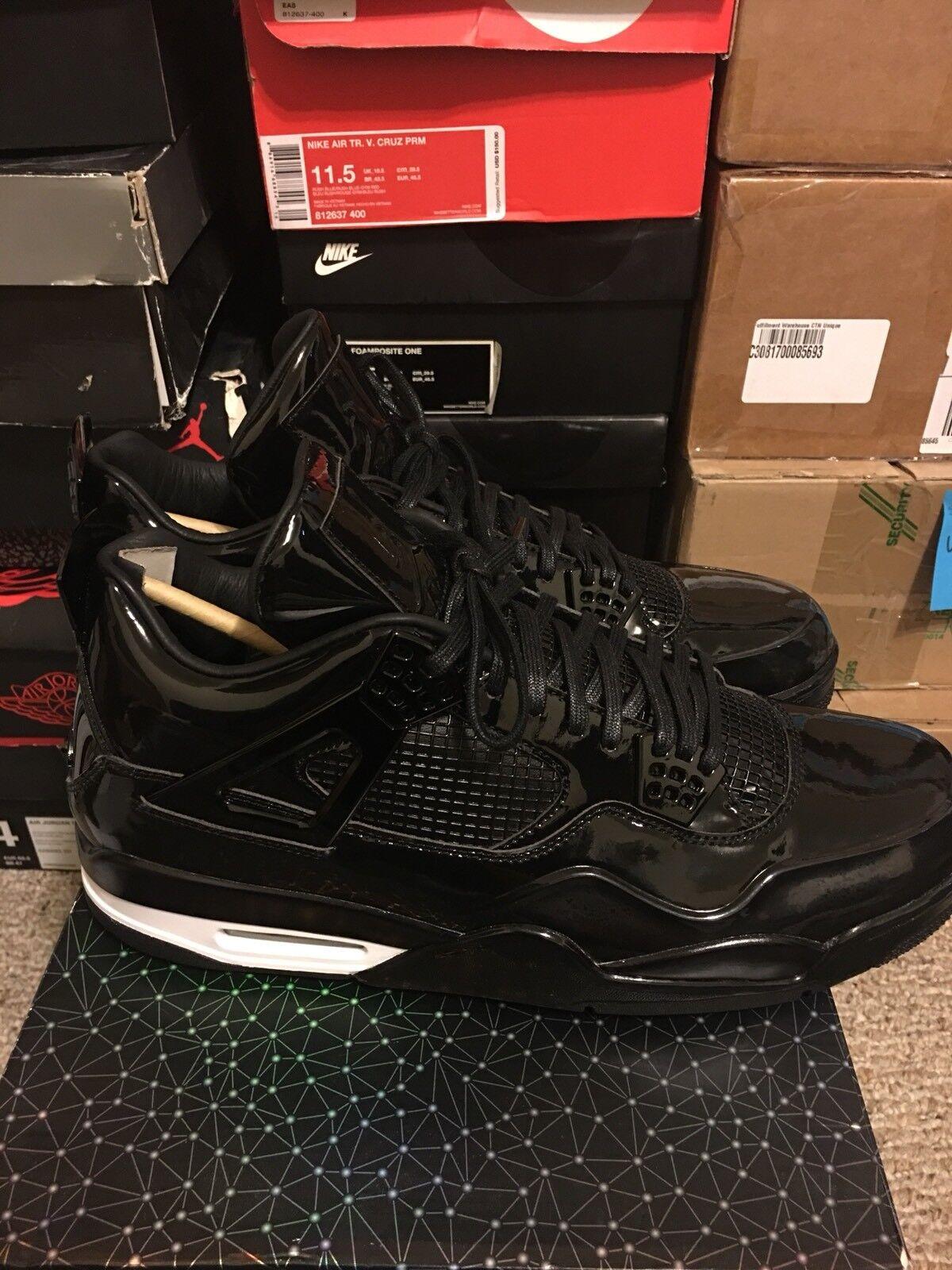 Nike Air Jordan (2018 4 Retro 11Lab4 Noir (2018 Jordan 719864-010 0da169