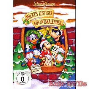 Mickys-lustiger-Adventskalender-DVD-Walt-Disney-Weihnachten-Micky-Maus-Neu