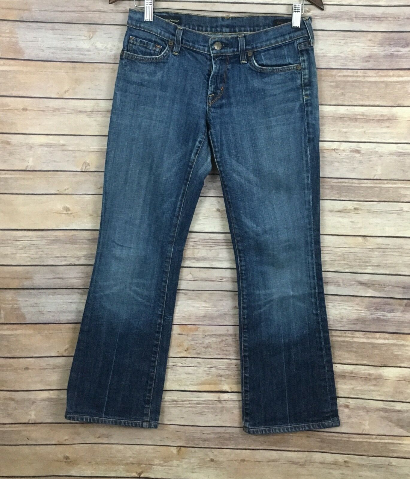 Citizens Of Humanity Low Waist Bootcut Jeans  (Size 27)