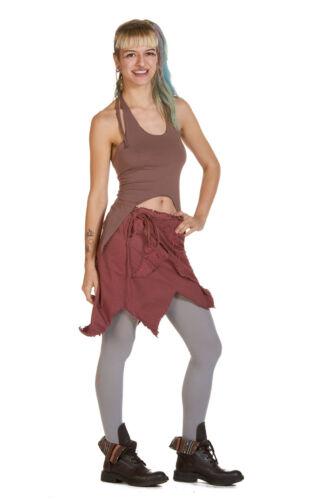Pixie Skirt Psy Trance Fairy Cosplay Elven Wrap Leaf Skirt Festival Clothing