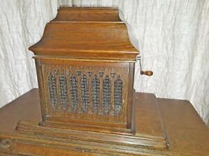 Edison Amberola B VIII cylinder phonograph, original- very rare !!!