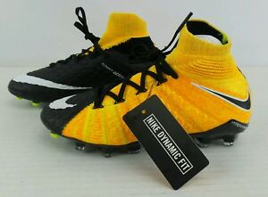 7fbcde9efeac NEW Nike Hypervenom Phantom III DF FG Flyknit ACC Soccer Cleat Size ...