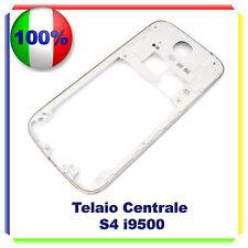 Cornice Middle Frame Samsung i9505 Bianco Corpo Centrale Cover Telaio Galaxy S4
