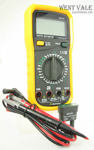 Details about Rapitest DM25 Multi-functional Electronic Digital Multimeter  New