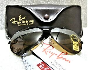 7f70128d416f Ray-Ban USA Vintage NOS B L Aviator Outdoorsman II B15 4-Driving New ...